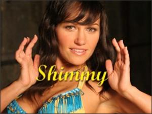 Shimmy in Bellydance